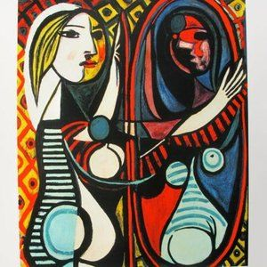 Other - Pablo Picasso GIRL BEFORE A MIRROR Estate Signed G